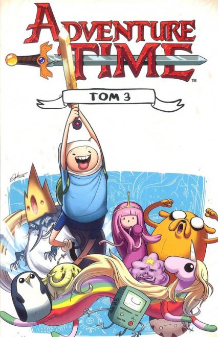 Adventure time 3 / Studio JG - zbiorowa Praca | okładka