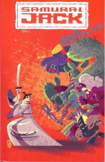 Samuraj Jack 1 - zbiorowa Praca | okładka