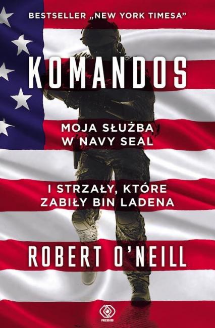 Komandos - Robert O'Neill   okładka