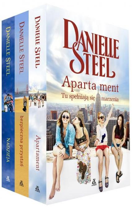 Apartament / Bezpieczna przystań / Nadzieja Pakiet - Danielle Steel | okładka