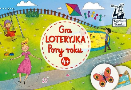 Gra Loteryjka Pory roku 4+ - zbiorowe opracowanie   okładka