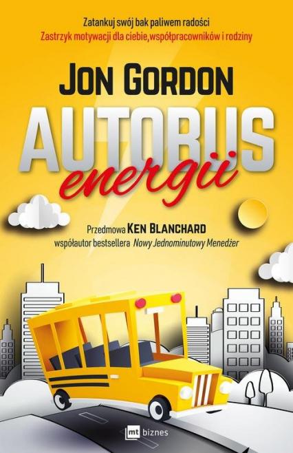 Autobus energii - Jon Gordon | okładka