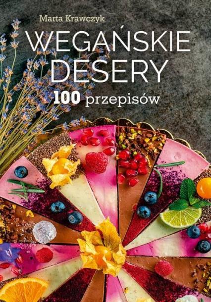 Wegańskie desery - Marta Krawczyk   okładka