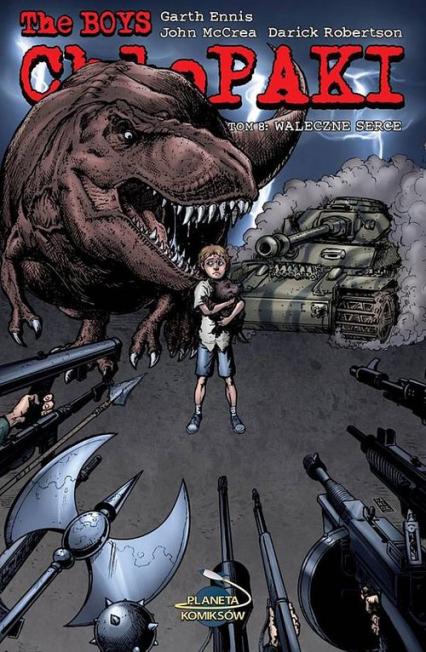 Chłopaki 8 Waleczne serce - Ennis Garth   okładka