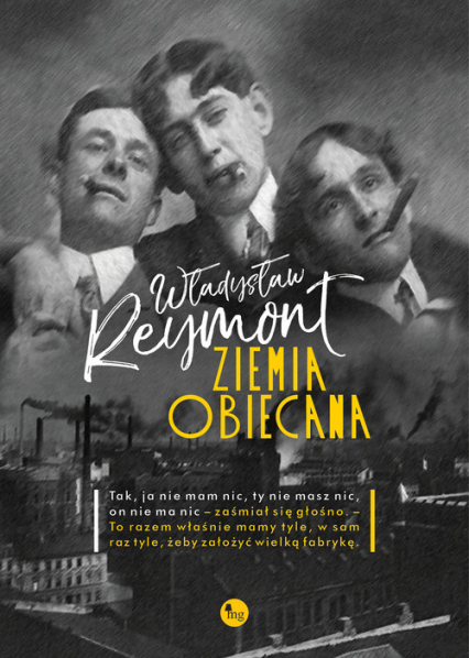 Ziemia obiecana - Władysław Reymont   okładka