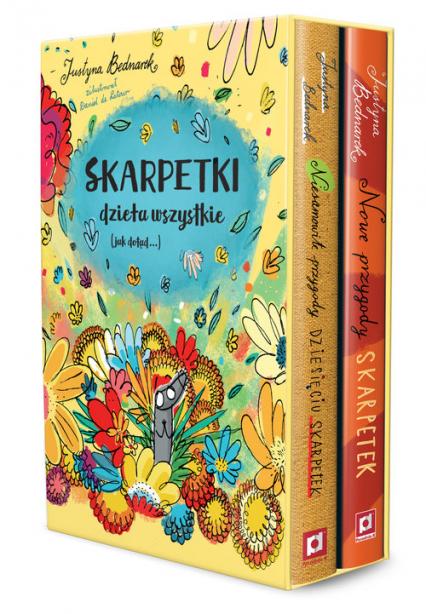 Skarpetki- dzieła wszystkie pakiet - Justyna Bednarek | okładka