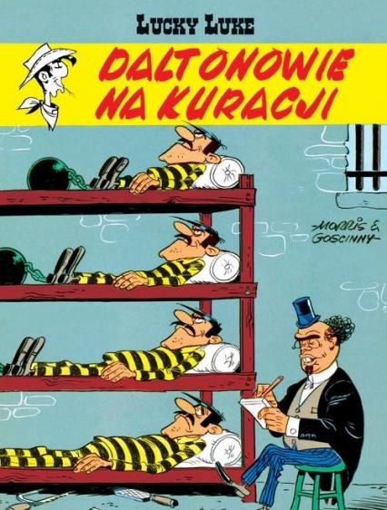 Lucky Luke Daltonowie na kuracji - Goscinny René, Morris | okładka