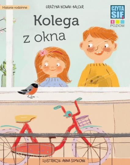 Kolega z okna - Grażyna Nowak-Balcer | okładka