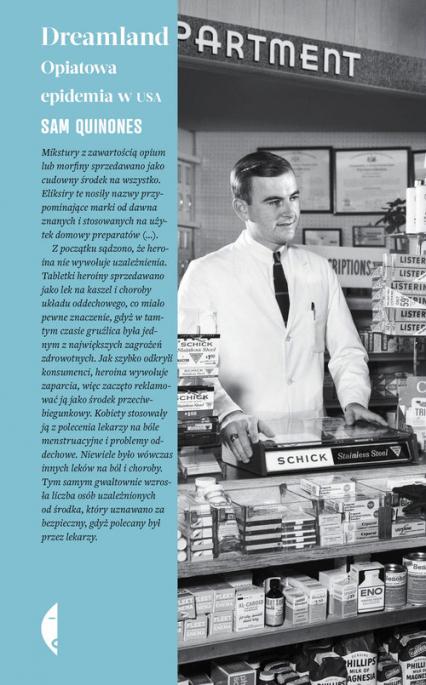 Dreamland Opiatowa epidemia w USA - Sam Quinones | okładka
