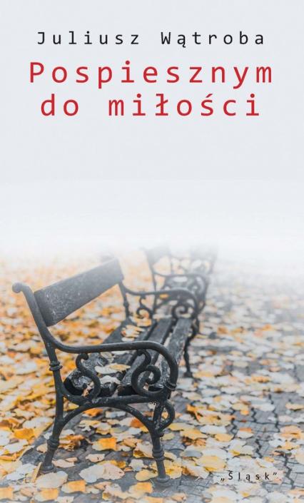 Pospiesznym do miłości - Juliusz Wątroba | okładka