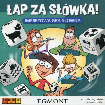 Łap za słówka Imprezowa gra słowna - Hartwig Jakubik | okładka