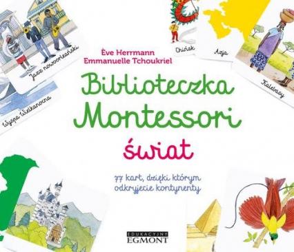Biblioteczka Montessori Świat - Eve Herrmann | okładka