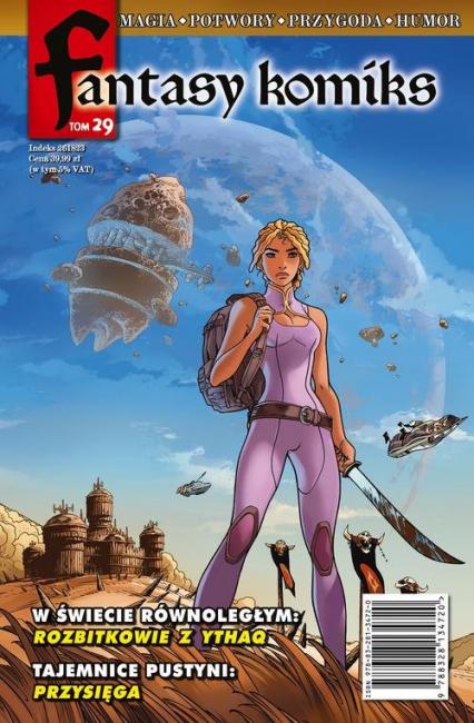 Fantasy Komiks Tom 29 -    okładka