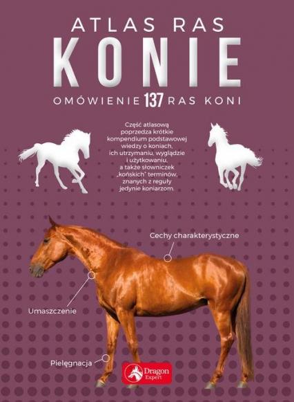 Konie Atlas ras - Katarzyna Piechocka | okładka