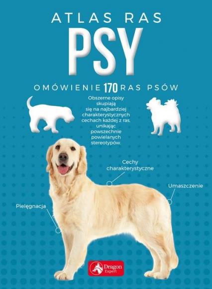 Psy Atlas ras - Nojszewska Agnieszka, Czarkowska Iwona | okładka