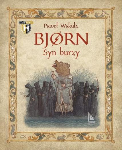 Bjorn Syn burzy - Paweł Wakuła | okładka