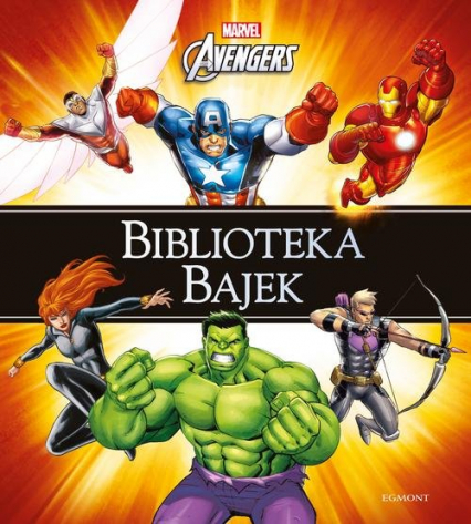 Marvel Avengers Biblioteka Bajek -  | okładka