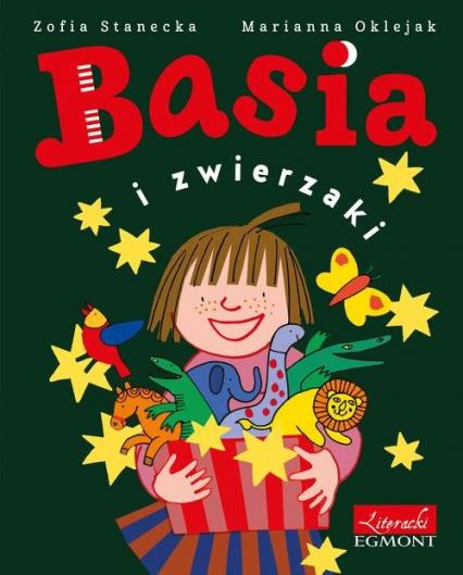 Basia i zwierzaki - Zofia Stanecka | okładka