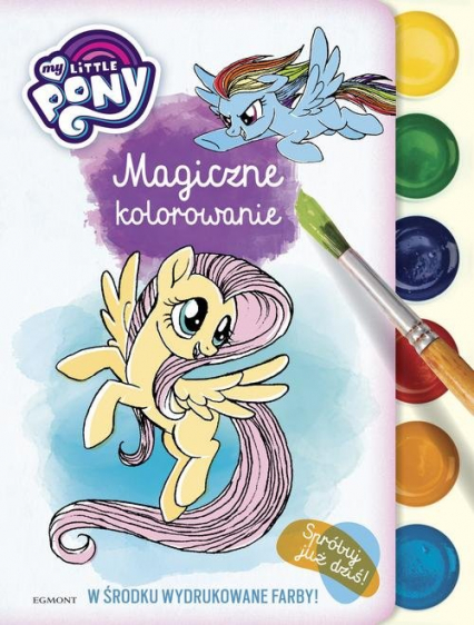My Little Pony Magiczne kolorowanie -  | okładka