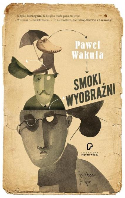 Smoki wyobraźni - Paweł Wakuła | okładka