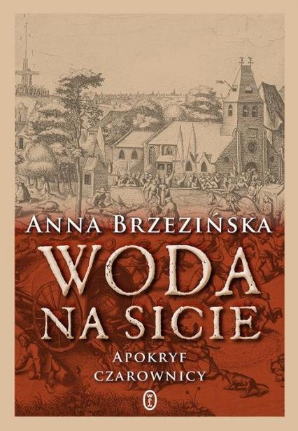 Woda na sicie Apokryf czarownicy - Anna Brzezińska | okładka