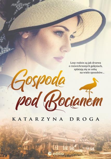 Gospoda pod Bocianem - Katarzyna Droga | okładka