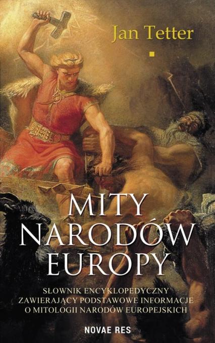 Mity narodów Europy - Jan Tetter   okładka
