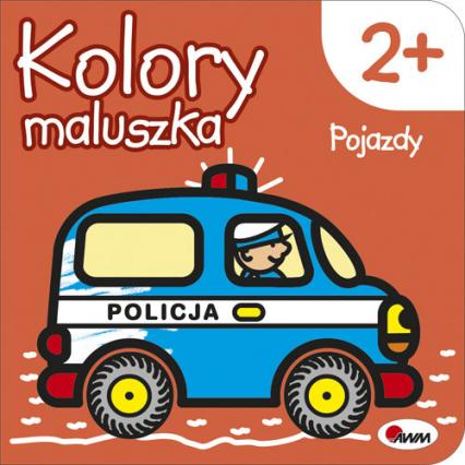 Kolory maluszka Pojazdy - Piotr Kozera | okładka