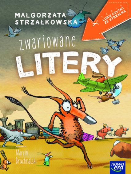 Zwariowane litery - Małgorzata Strzałkowska | okładka
