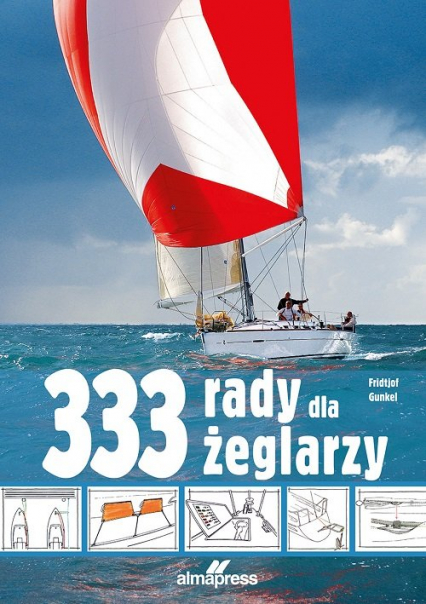 333 rady dla żeglarzy - Fridtjof Gunkel | okładka