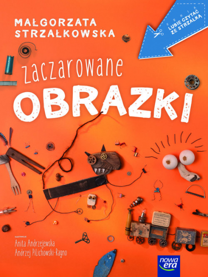Zaczarowane obrazki - Małgorzata Strzałkowska | okładka