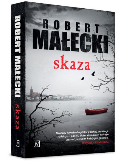 Skaza - Robert Małecki | okładka