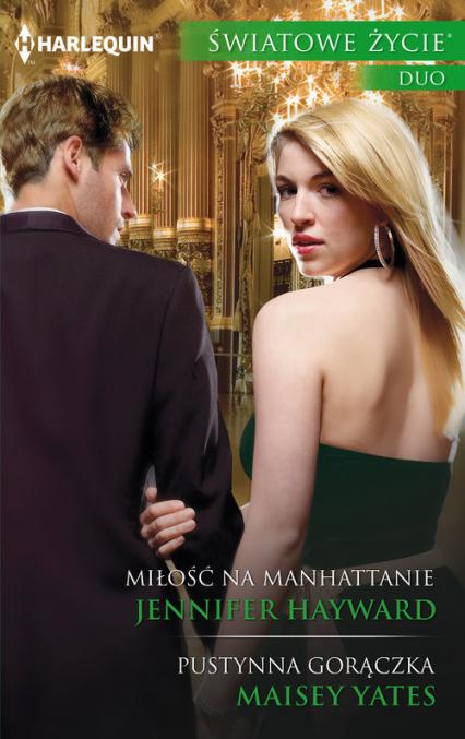 Miłość na Manhattanie - Jennifer Hayward | okładka