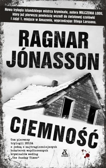 Ciemność - Ragnar Jonasson | okładka