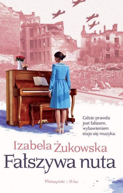 Fałszywa nuta - Izabela Żukowska | okładka