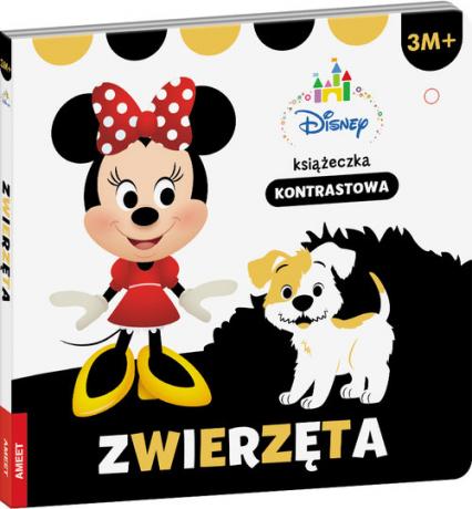 Disney maluch 3m+ Zwierzęta książkeczka kontrastowa -  | okładka