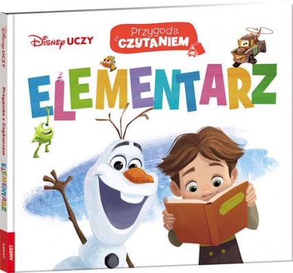 Disney Uczy Przygoda z czytaniem Elementarz PCE-1 -  | okładka