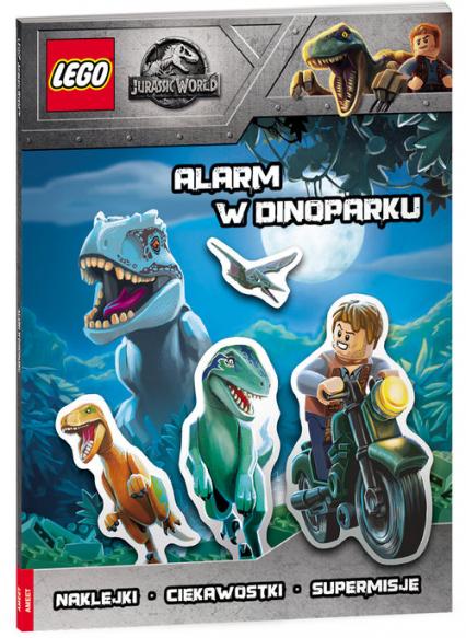 Lego Jurassic World Alarm W Dinoparku -  | okładka