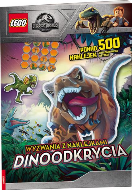 Lego Jurassic World Wyzwania Dinoodkrycia SAC-6201 -  | okładka