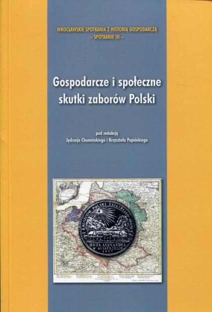 Gospodarcze i społeczne skutki zaborów Polski -  | okładka
