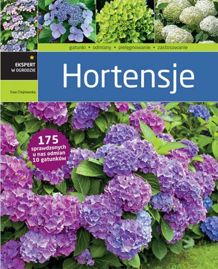 Hortensje - Ewa Chojnowska | okładka