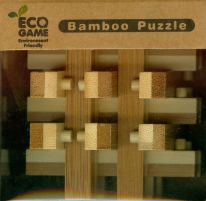Łamigłówka bambusowa typ 3 bamboo puzzle -  | okładka
