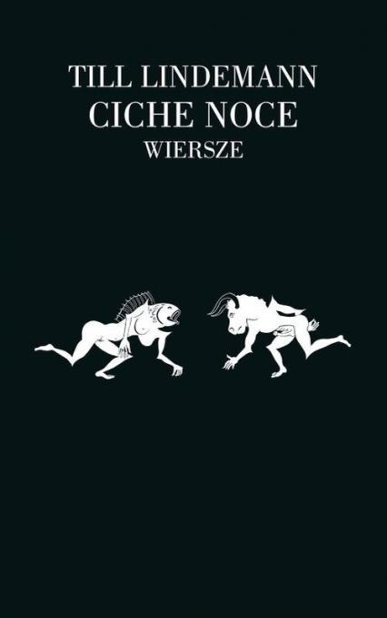 Ciche noce Wiersze - Till Lindemann | okładka