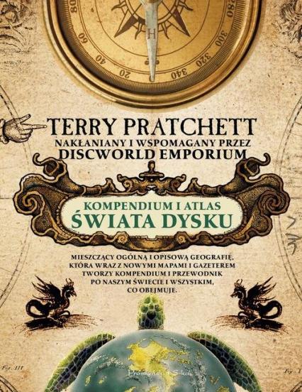 Kompendium i Atlas Świata Dysku - Terry Pratchett | okładka