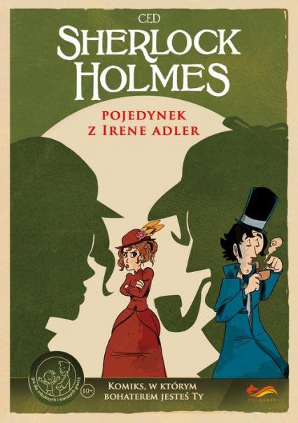 Komiksy paragrafowe Pojedynek z Irene Adler -  | okładka