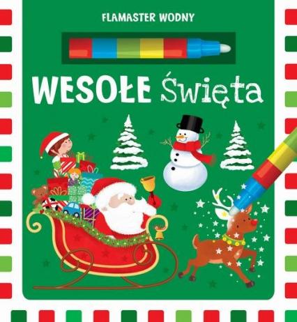 Flamaster wodny Wesołe Święta -  | okładka