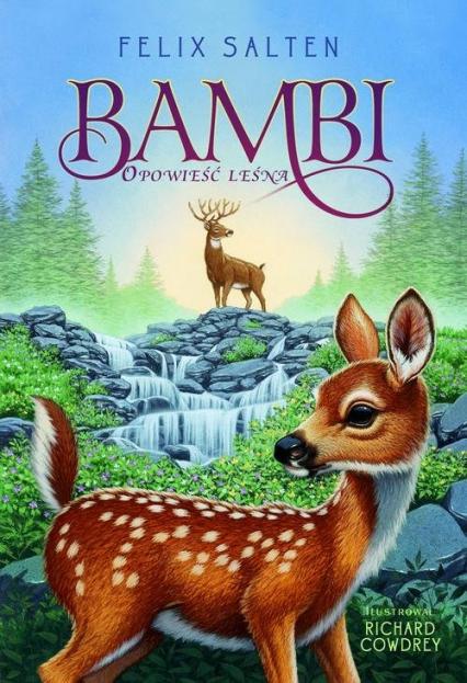 Bambi Opowieść leśna - Felix Salten | okładka
