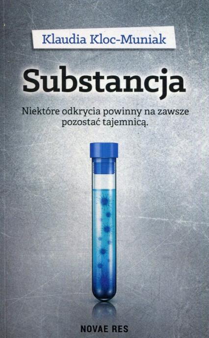 Substancja - Klaudia Kloc-Muniak | okładka