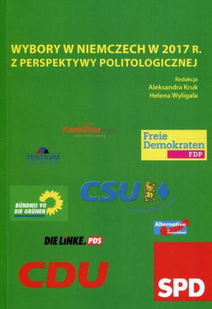 Wybory w Niemczech w 2017 r. z perspektywy politologicznej -  | okładka