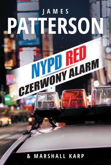 Czerwony alarm - Patterson James, Karp Marshall | okładka